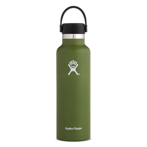 Hydro Flask 21oz / 621mL Standard Mouth Bottle - Olive