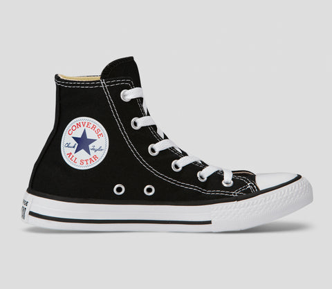 Kids Chuck Taylor All Stars Black/White Hi Top Shoes