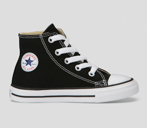 Infant/Toddler Chuck Taylor Canvas Black/White Hi Top Shoes