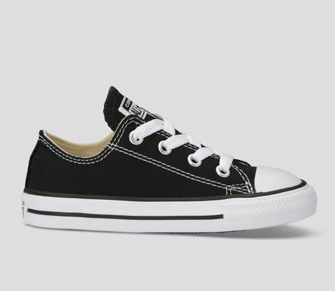 Infant/Toddler Chuck Taylor Canvas Black/White Low Shoes