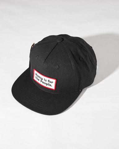 For the People Hemp Snapback Cap