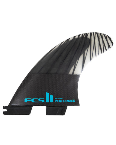 FCS II Performer Performance Core Carbon Large Tri Fin Set