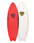 MR Epoxy Twin Fin 6'0 Softboard
