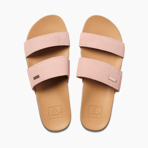 Cushion Bounce VIsta Suede Slides