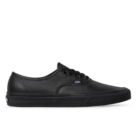 Authentic Leather Black/Black Shoes