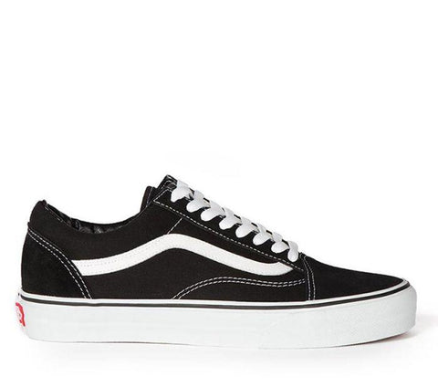 Old Skool Kids Black/White Shoes