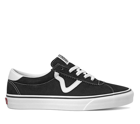 Vans Sport Suede Black/White Shoes