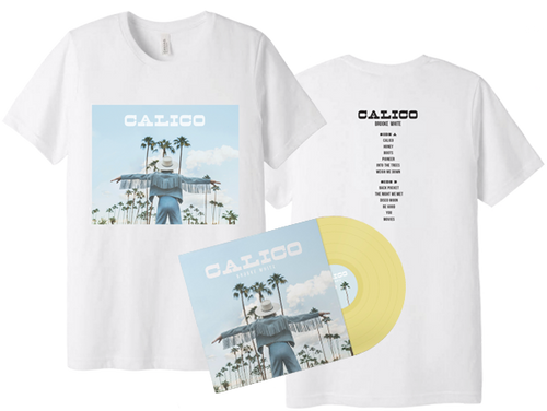 Calico Tee + Vinyl + Digital Download *Pre-Order*