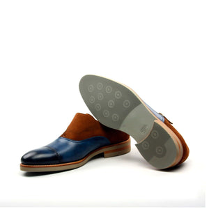 CAP TOE MONK SHOE
