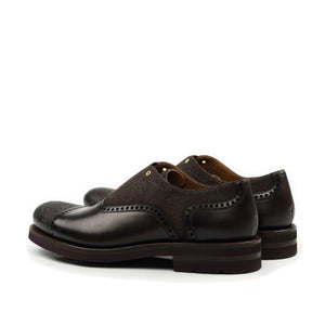 Omine Engraved Toe Oxford With Elastic