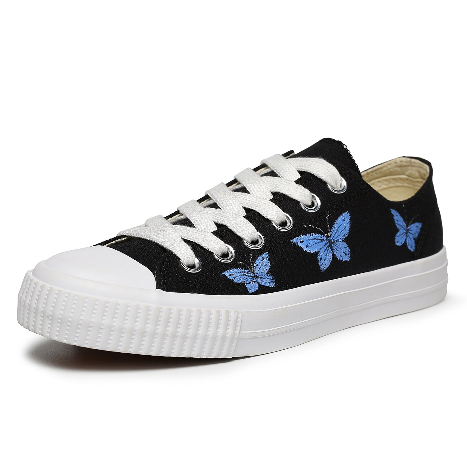 Women's Hand Painted Canvas Shoes Art