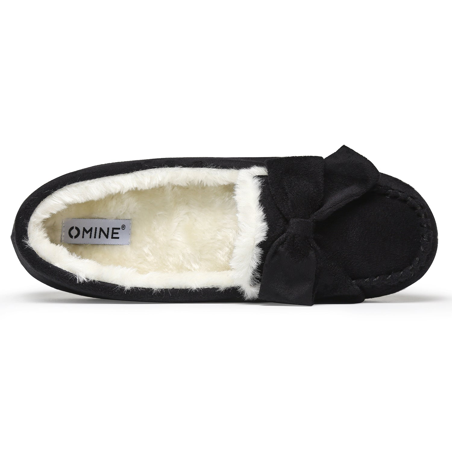 Women's Faux Fur Slipper Sheepskin Softsole Flat Moccasin Shoes
