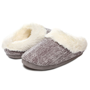Women's Memory Foam Slipper Comfy House Shoes for Indoor & Outdoor