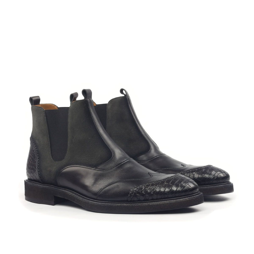 Omine Double Wingtip Chelsea Boot