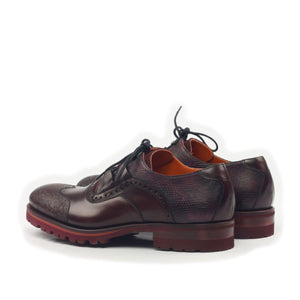 Omine Engraved Cap Toe Derby