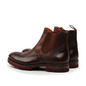 Omine Full Brogue Chelsea Boot