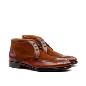 Omine Full Brogue Chukka Boot