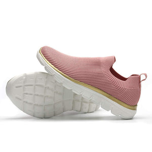 Flyknit Slip On Running Shoes for Women Breathable Lightweight - Golaiman