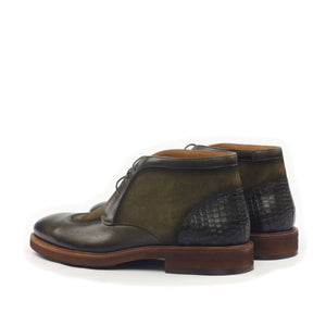 Omine Multi Textured Chukka Boot