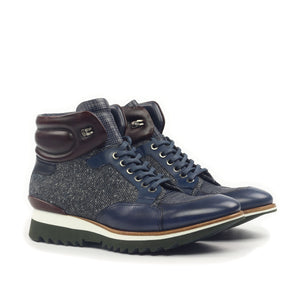 Omine Multi Textured Sneaker Boot