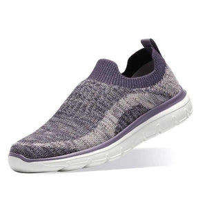 Fashion Casual Slip on Sneakers for Women Flyknit Casual Sports Shoes - Golaiman