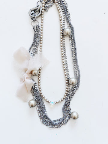 Long Collier Grappe / Elsa