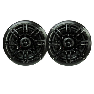 "Milennia SPK652B 6.5"", 2-Way Marine Speakers - 150W - Black"