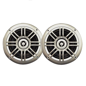 "Milennia SPK652S 6.5"", 2-Way Marine Speakers - 150W - Silver"