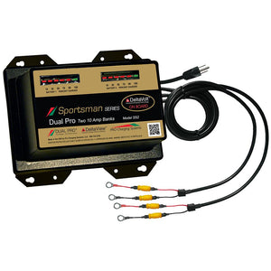 Dual Pro Sportsman Series Battery Charger - 20A - 2-10A-Banks - 12V-24V