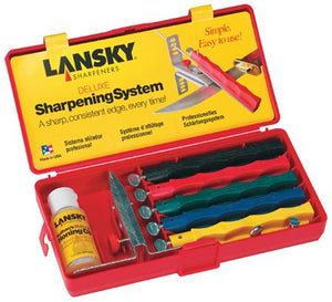 Lansky Deluxe Controlled-Angle Knife Sharpening System