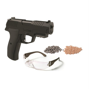 Crosman Iceman CO2 BB-Pellet Pistol Kit