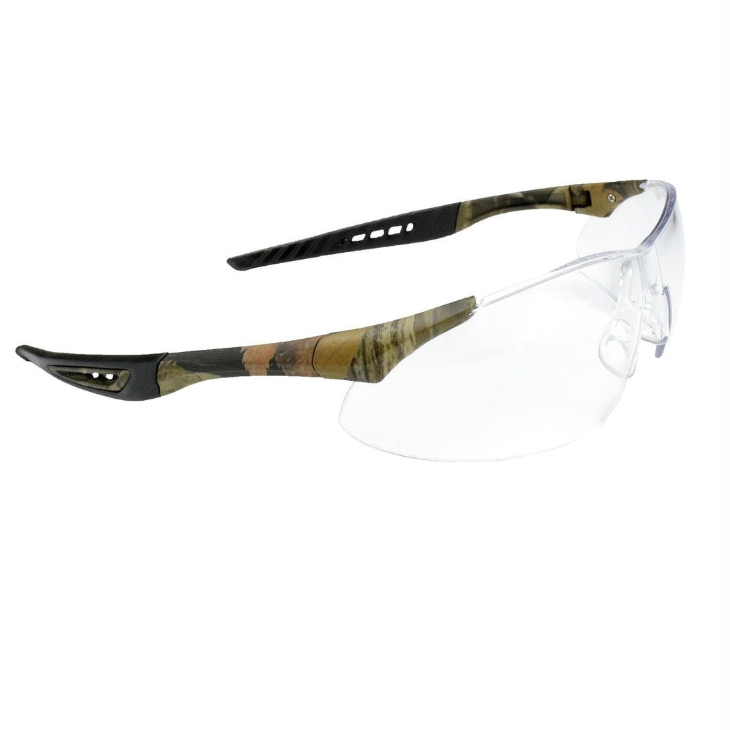 Radians Rock Anti-Fog Shooting Glasses Camo-Clear