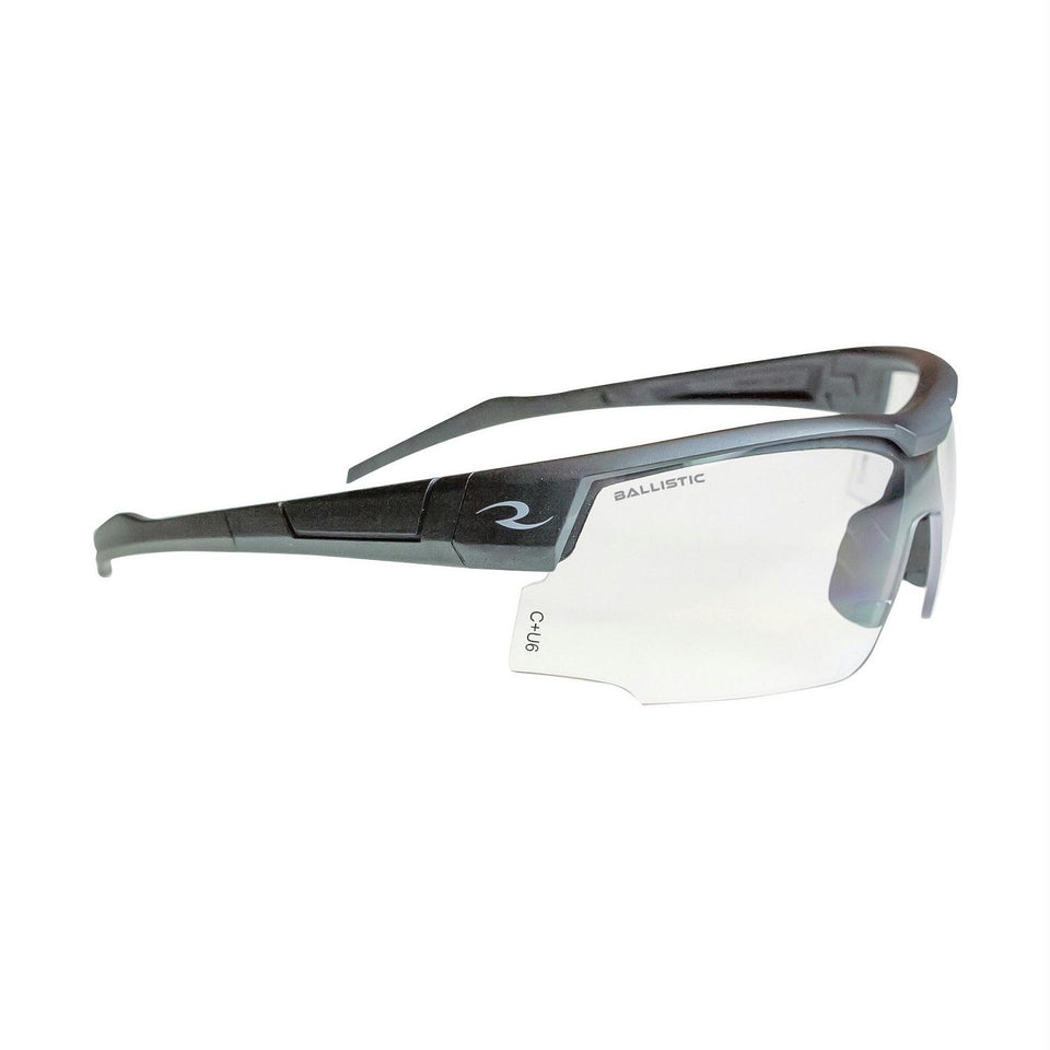 Radians Skybow Shooting Glasses Blue Gray-Clear