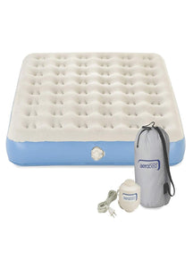 Coleman Airbed Queen Single High with 120 volt Combo