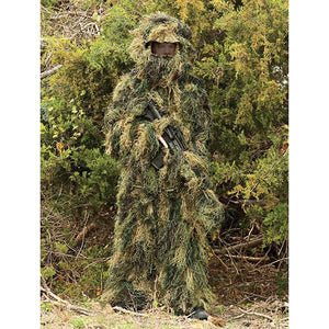 Red Rock 5-Piece Ghillie Suit Woodland Camo Youth Size 14-16