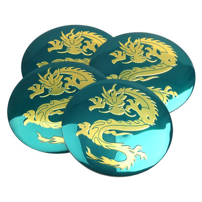 Stickers Cache Moyeu Dragon D'or