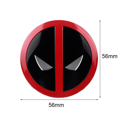 Stickers Cache Moyeu Marvel Deadpool