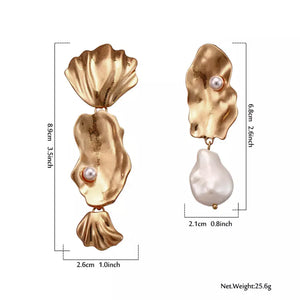 Ariana Pearl Earrings