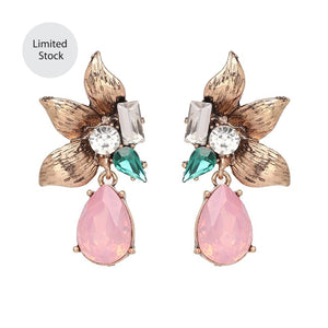 Camile Earrings Pink
