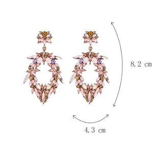 Cleo Earrings Pink