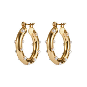 La Perla Hoop Earrings