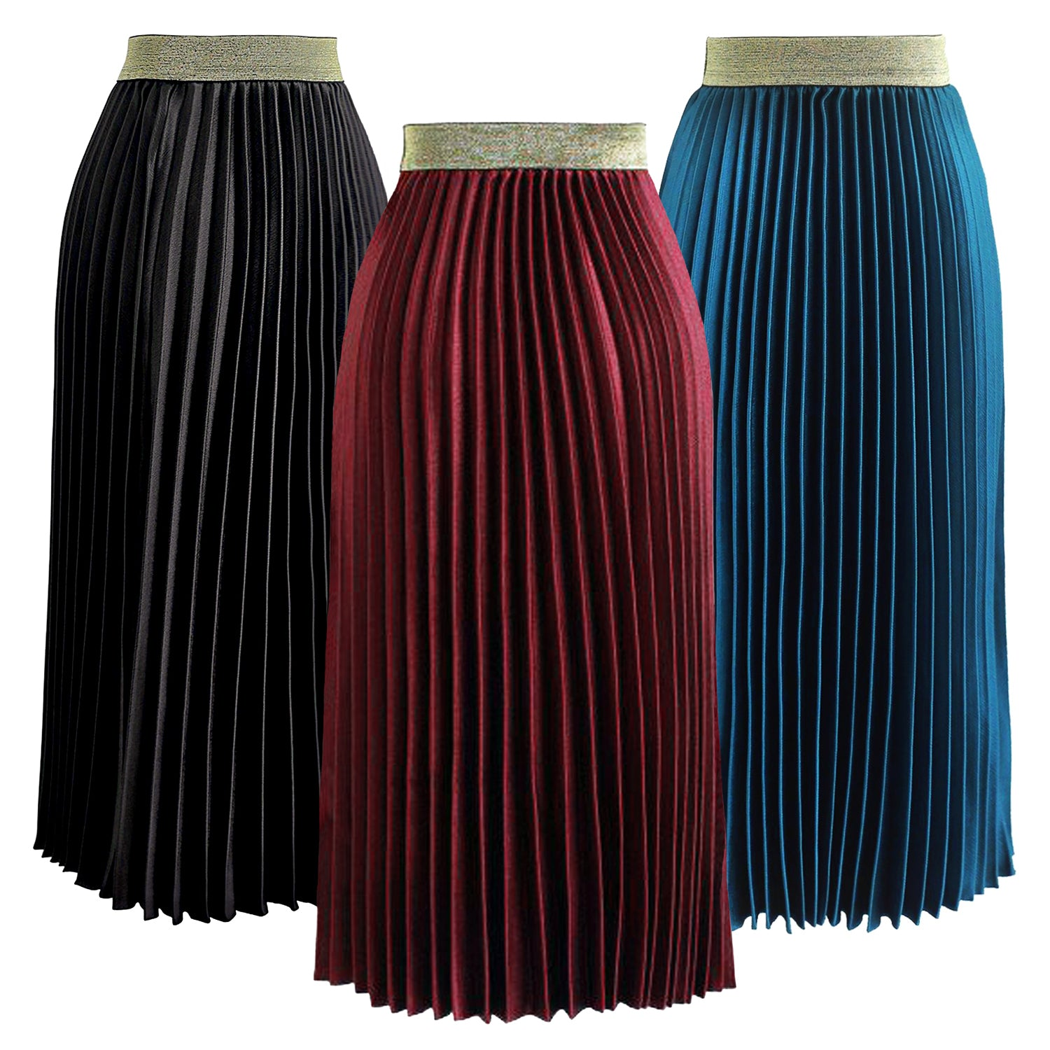 Mila Pleated Midi