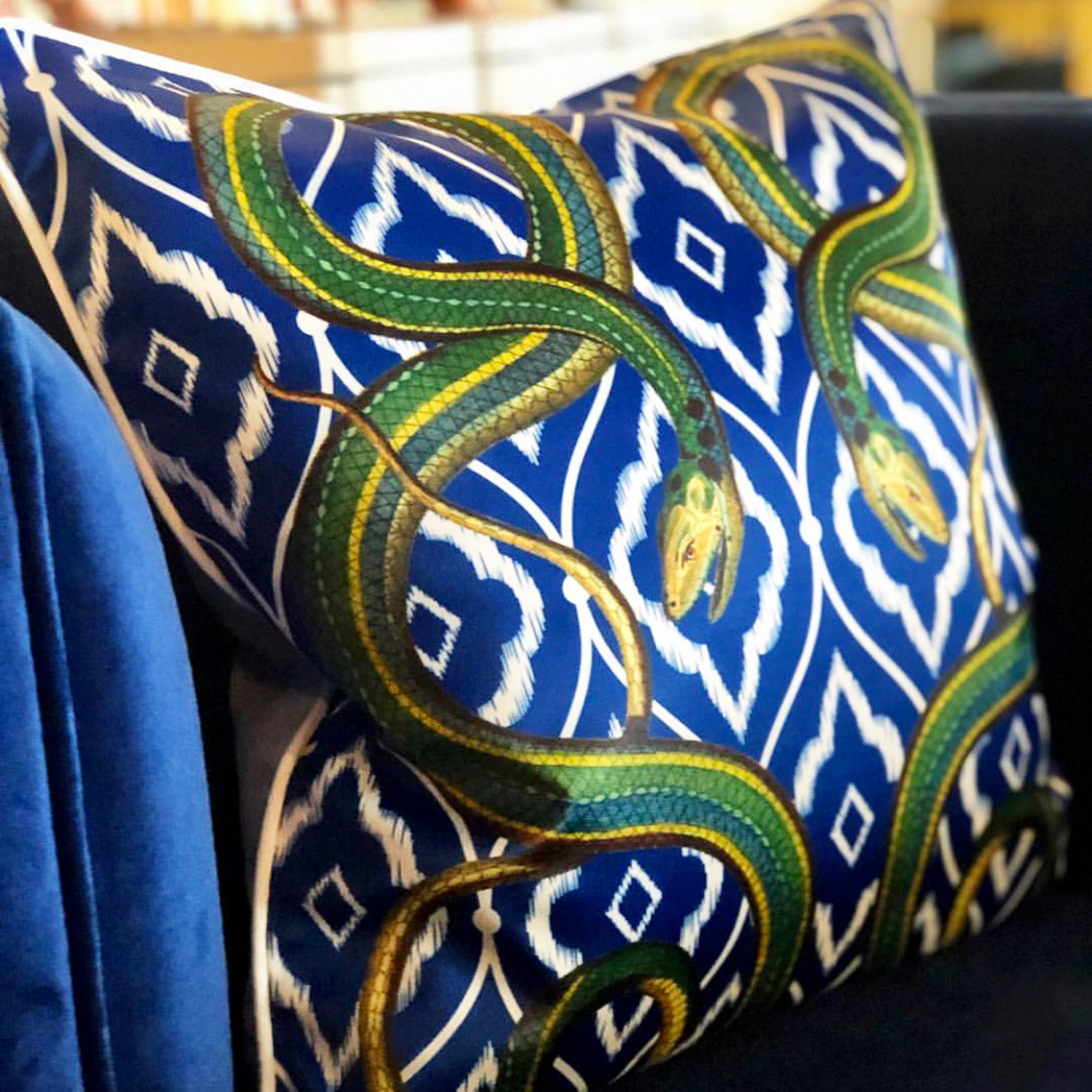 Exotico Serpiente Cushion