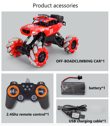 60% OFF-S1 2 4GHz 4WD RC Car(off-road) – UNI