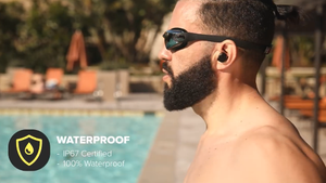SAVE 50%-Long Lasting Advanced IPX7 Waterproof Wireless Earphones