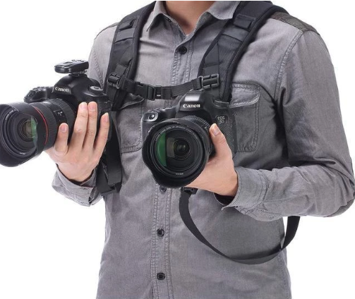 (2019)New Arrival-Double Breathableb Camera Strap