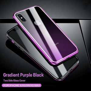 Magnetic Adsorption Phone Case for iPhone X XS XS Max XR 8 8Plus 7 7Plus