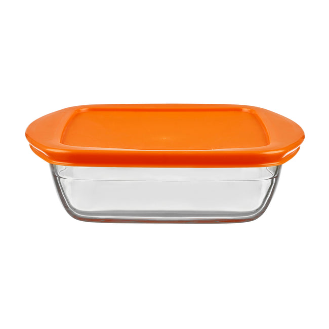 Nutrifresh Prep Set of 2 Square Storage Dishes with Lids