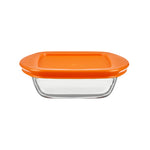 Nutrifresh Prep Set of 4 Square Dishes with Lids