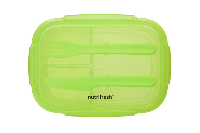 Nutrifresh To Go Lunch Set - Split Box & Infusion Bottle